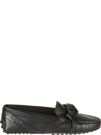 Tod's Bow Detailed Loafers