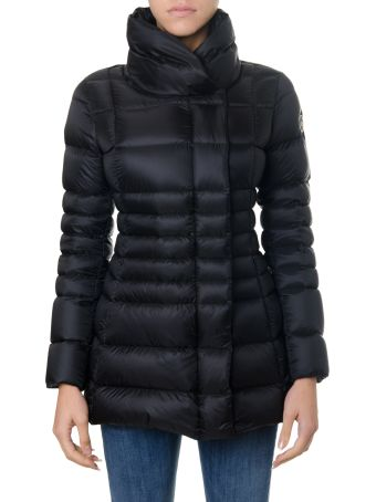 Colmar Black Place Opaque Fabric Down Jacket