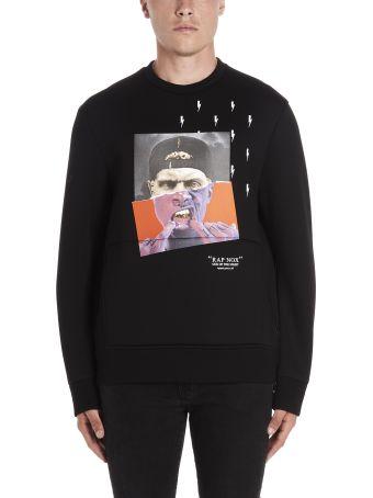 Neil Barrett 'hibrida Rap Nox' Sweatshirt