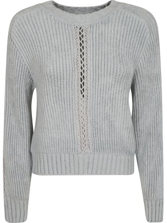Alberta Ferretti Perforated Knit Sweater