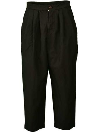 Comme des Garçons Comme des Garçons Comme Des Garçons Classic Cropped Trousers