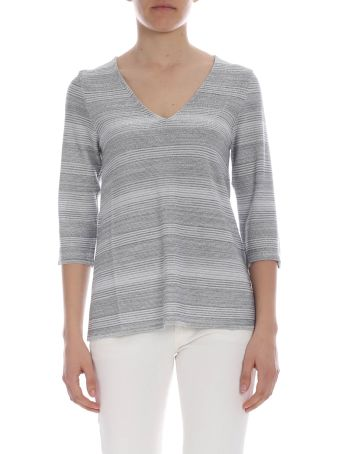 Kangra Lurex V-neck Sweater