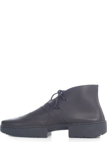 Trippen Lace Up Shoes W/sole Tone On Tone