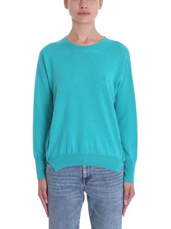 Mauro Grifoni Green Wool Sweater