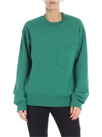 Cedric Charlier Patch Pocket Sweater