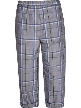 Tela Plaid Trousers