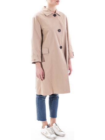 Max Mara The Cube Ftrench Cotton Trench