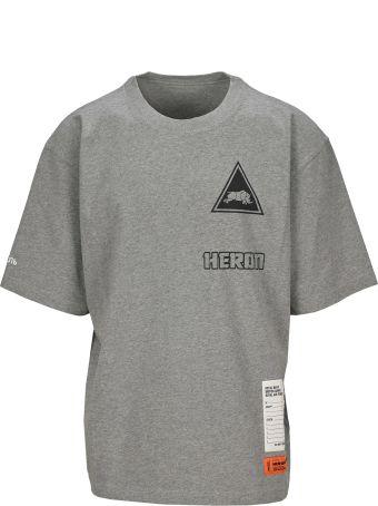 HERON PRESTON Logo Print T-shirt
