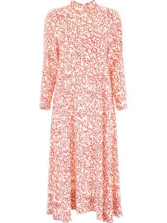 Ganni Floral-printed Dress