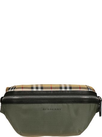 Burberry Sonny Checked Belt Bag