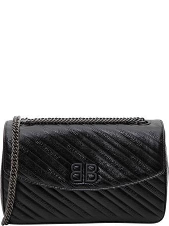 Balenciaga Bb Chain M Quilted Crossbody Bag