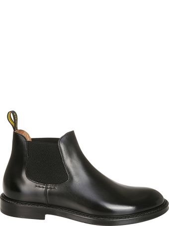 Doucal's Elasticated Side Ankle Boots