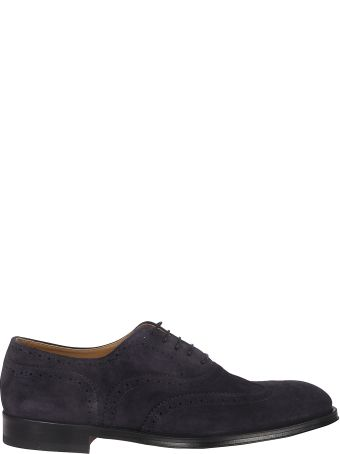 Doucal's Textured Lace-up Shoes