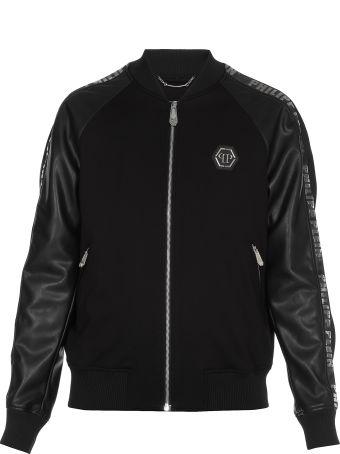 Philipp Plein Eco Leather Jacket
