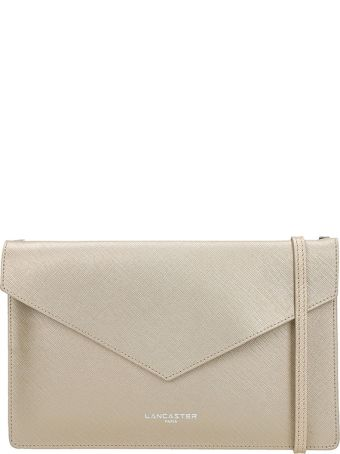 Lancaster Paris Element Champagne Saffiano Leather Pochette