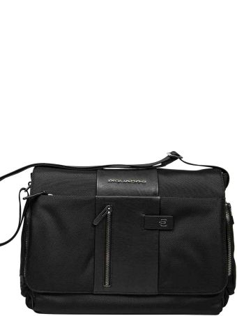 Piquadro Laptop And Ipad® Messenger Bag,