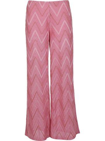 M Missoni Chevron Pattern Trousers