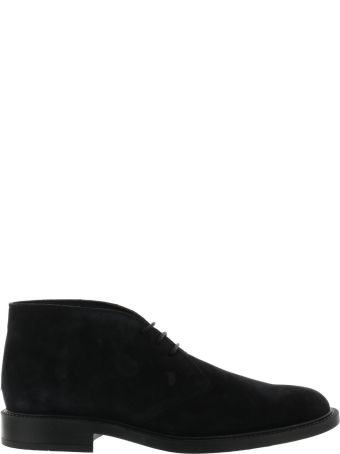 Tod's Suede Laced Up Shoes