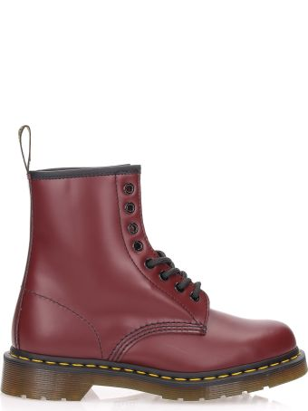 Dr. Martens 1460 Smooth Cherry Red 8 Eye Z Welt