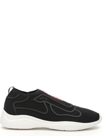 Prada America's Cup Slip-on Sneakers