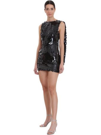 Nervi Marina Dress In Black Polyester