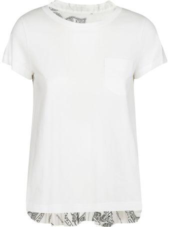 Sacai Bandana Printed T-shirt