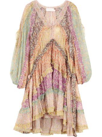 Zimmermann Carnaby Printed Georgette Dress