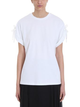 3.1 Phillip Lim White Cotton T-shirt