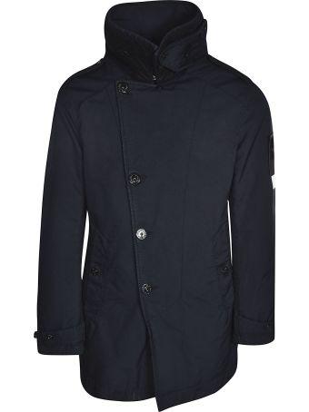 Stone Island Diagonal Front Button Jacket