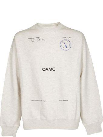OAMC Slogan Sweatshirt