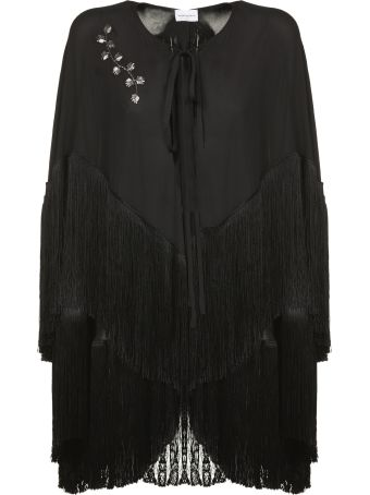 Magda Butrym Fringed Cape