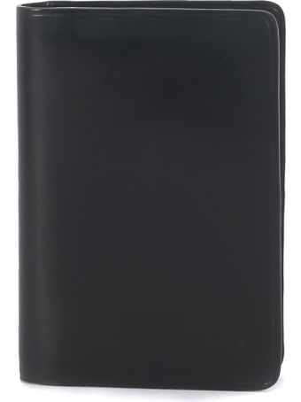 Il Bussetto Black Leather Document Holder