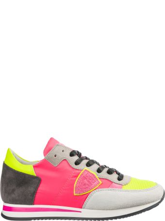 Philippe Model  Shoes Suede Trainers Sneakers Tropez