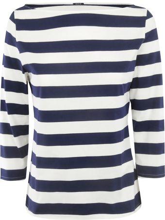 A Punto B Striped Sweatshirt