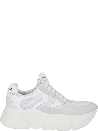 Voile Blanche Thick Sole Sneakers