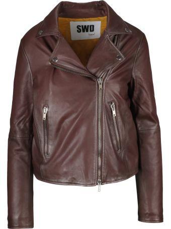 S.W.O.R.D 6.6.44 S.w.o.r.d 6.6.4.4. Zipped Biker Jacket
