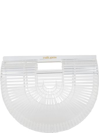 Cult Gaia Transparent Rounded Tote