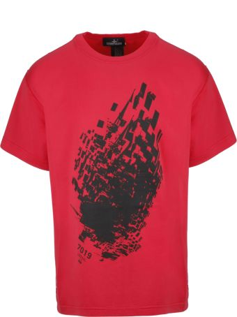 Stone Island Shadow Project Graphic T-shirt