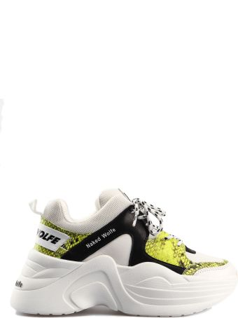 Naked Wolfe Logo Patch Sneakers
