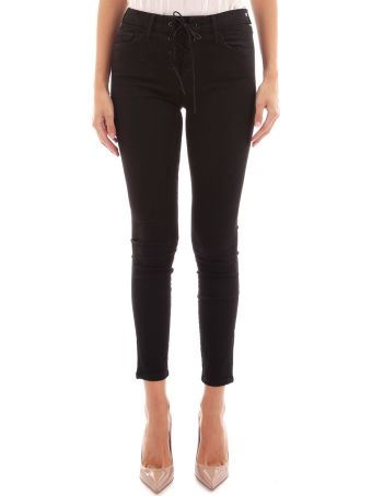 Mother Black Jeans With Laces