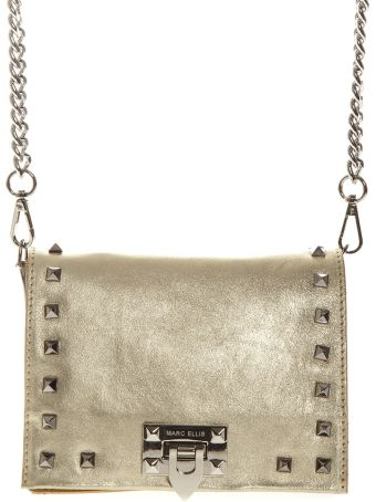 Marc Ellis Tote Hailee Bag In Platinum Laminated Leather