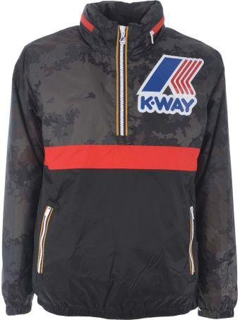 K-Way Maxy Remix Logo Jacket