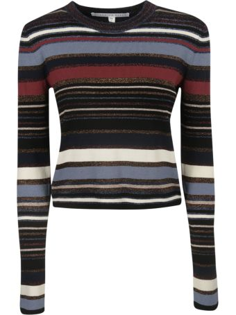 Veronica Beard Striped Top