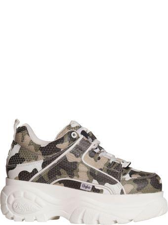 Buffalo Classic Sneakers In Camo