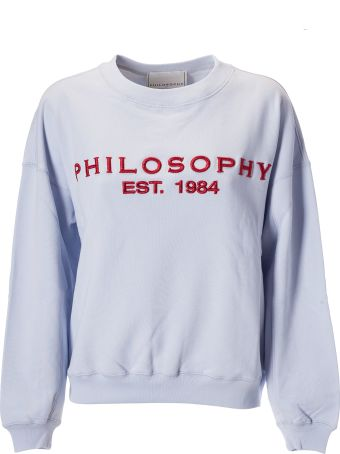 Philosophy di Lorenzo Serafini Embroidered Logo Sweatshirt