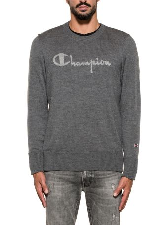 Paolo Pecora Gray Wool Pullover