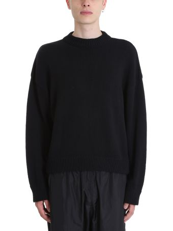 Our Legacy Sonar Roundneck Black Cotton Sweater