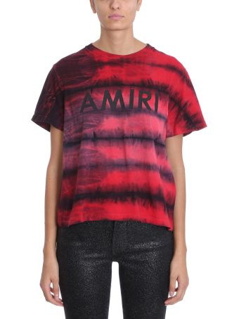 AMIRI Red Cotton T-shirt
