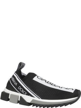 Dolce & Gabbana Sorreno Logo Detail Sneakers