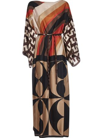 Erika Cavallini Printed Long Dress